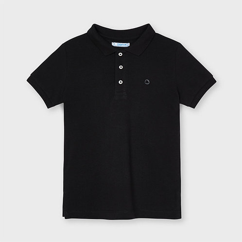 Mayoral Basic short sleeved polo in navy