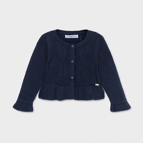 Mayoral Knitting cardigan Navy