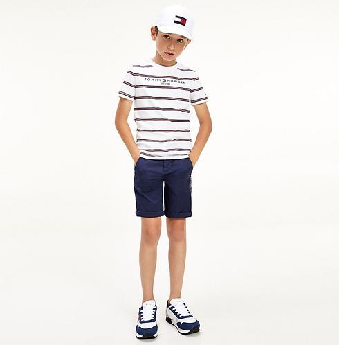 Tommy Hilfiger Essential Multi stripe T shirt