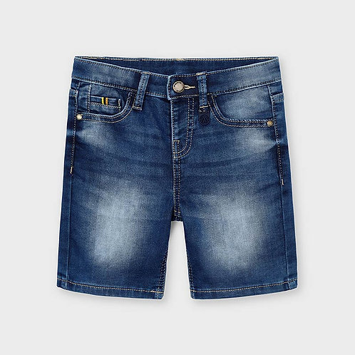Mayoral denim soft shorts