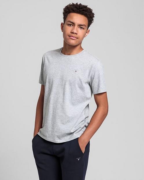 GANT Teen Boys Original T-Shirt- Grey