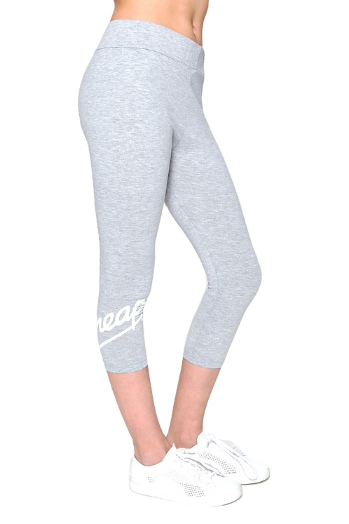 Pineapple Wrap Logo Crop Leggings