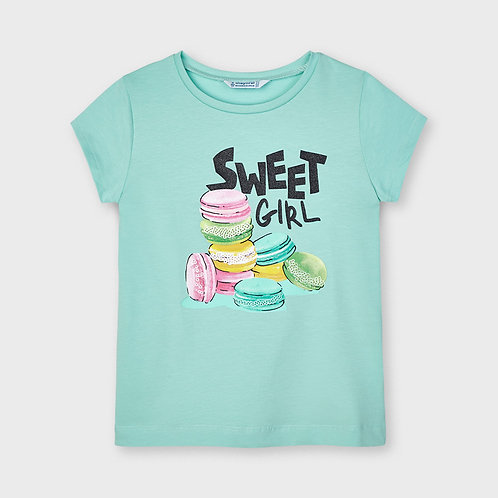 Mayoral ECOFRIENDS t-shirt for girl in  Emerald