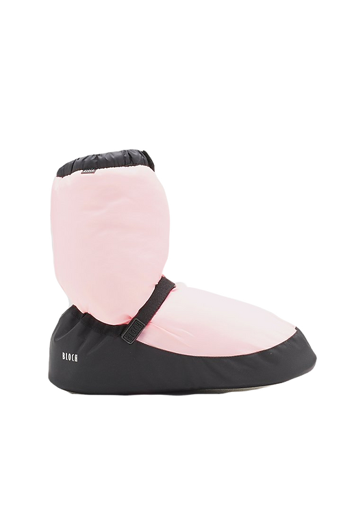 Bloch Adults Warm Up Booties-Candy Pink