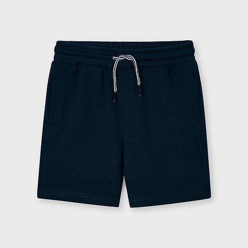 Mayoral Basic fleece shorts Navy
