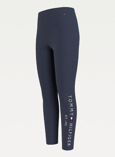 Tommy Hilfiger Girls Essential Cotton Logo leggings