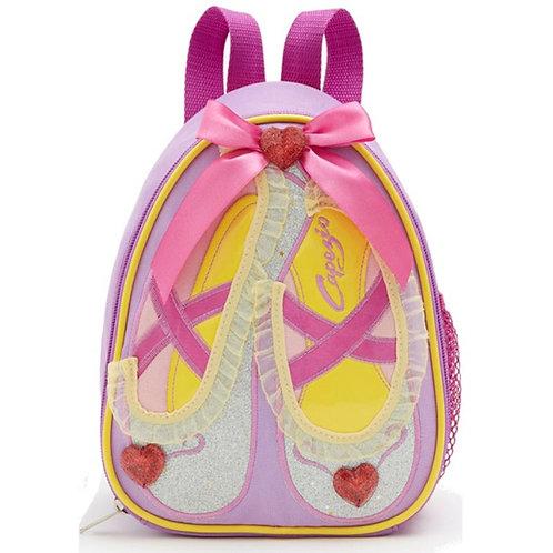 Capezio B122C Ballet Shoes Sparkle Backpack raspberry