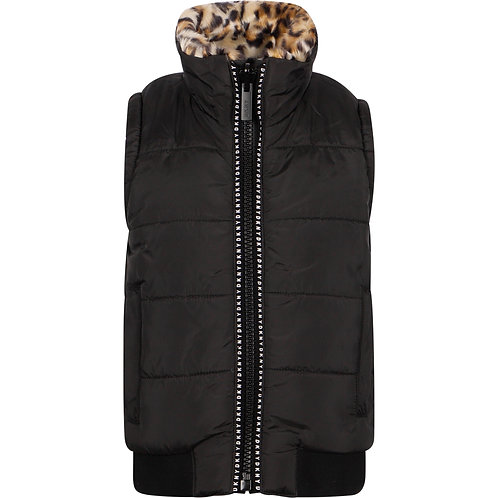 DKNY Sleeveless puffer jacket