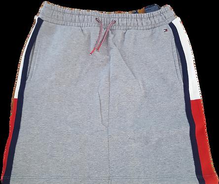 Tommy Hilfiger Rib Insert Skirt: Grey