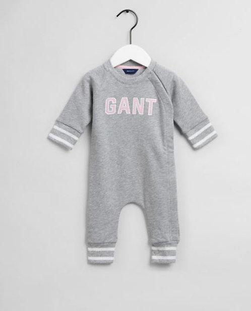 GANT Baby Girls Varsity Sweat Coverall