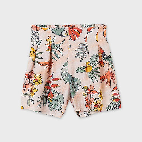 Mayoral patterned short pant Peach