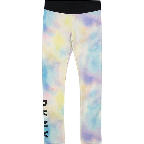 DKNY All- Over Printed Leggings-Pastel