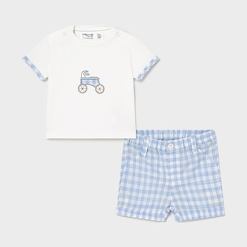 Mayoral Shorts set for newborn boys
