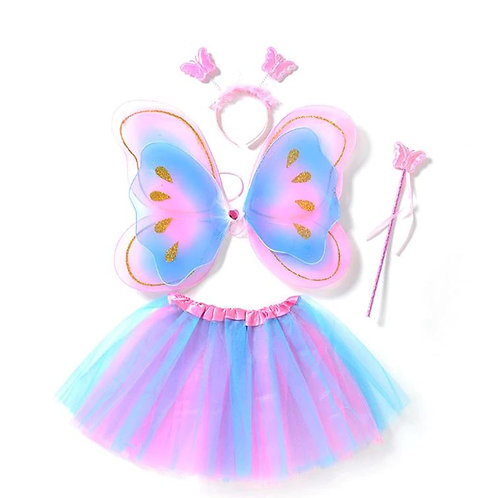 First Stage 4Pcs Girls Fairy Costumes