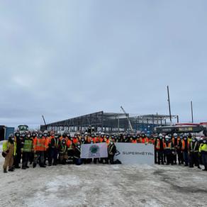 Supermetal Construction construit les 2 plus grands entrepôts du Canada