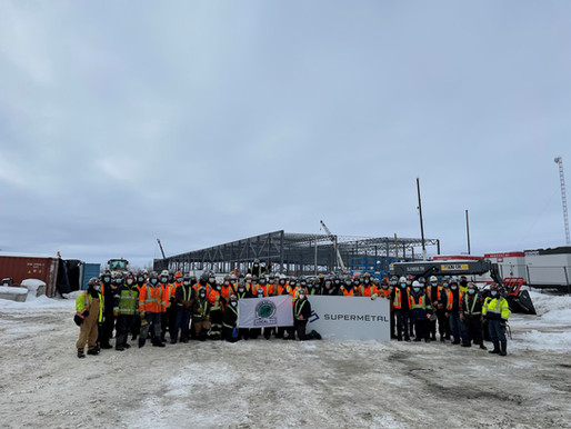 Supermetal Construction is Erecting Canada's 2 Largest Warehouses