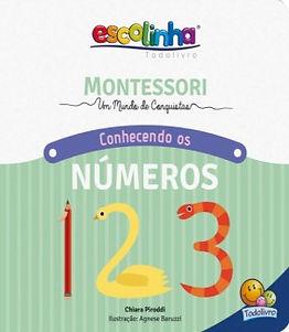 Conhecendo os números - Montessori