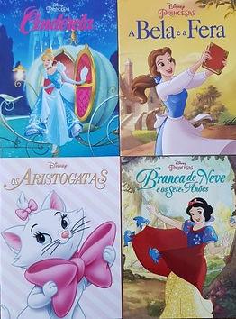 Coleção Disney -  4 livrinhos de bolso