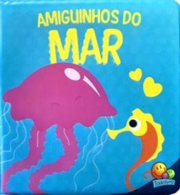 Amiguinhos do mar - um livro de banho