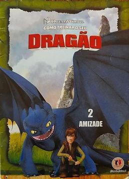 Como treinar seu dragão, n. 2 -  Amizade