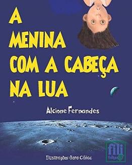 A Menina com a cabeça na Lua