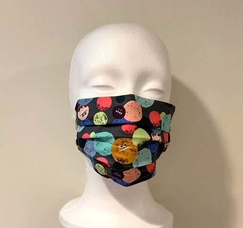 Handmade Cotton Face Mask with Adjustable Nose Piece