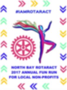 North bay Rotaract 2017 Fun Run Flyer