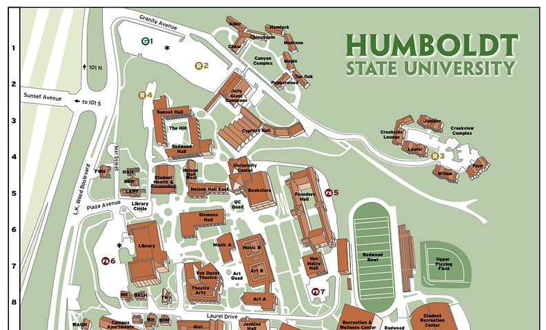 HSU Map