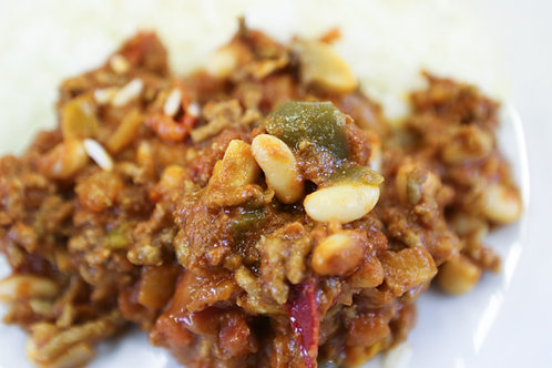 Beef Chilli and Rice