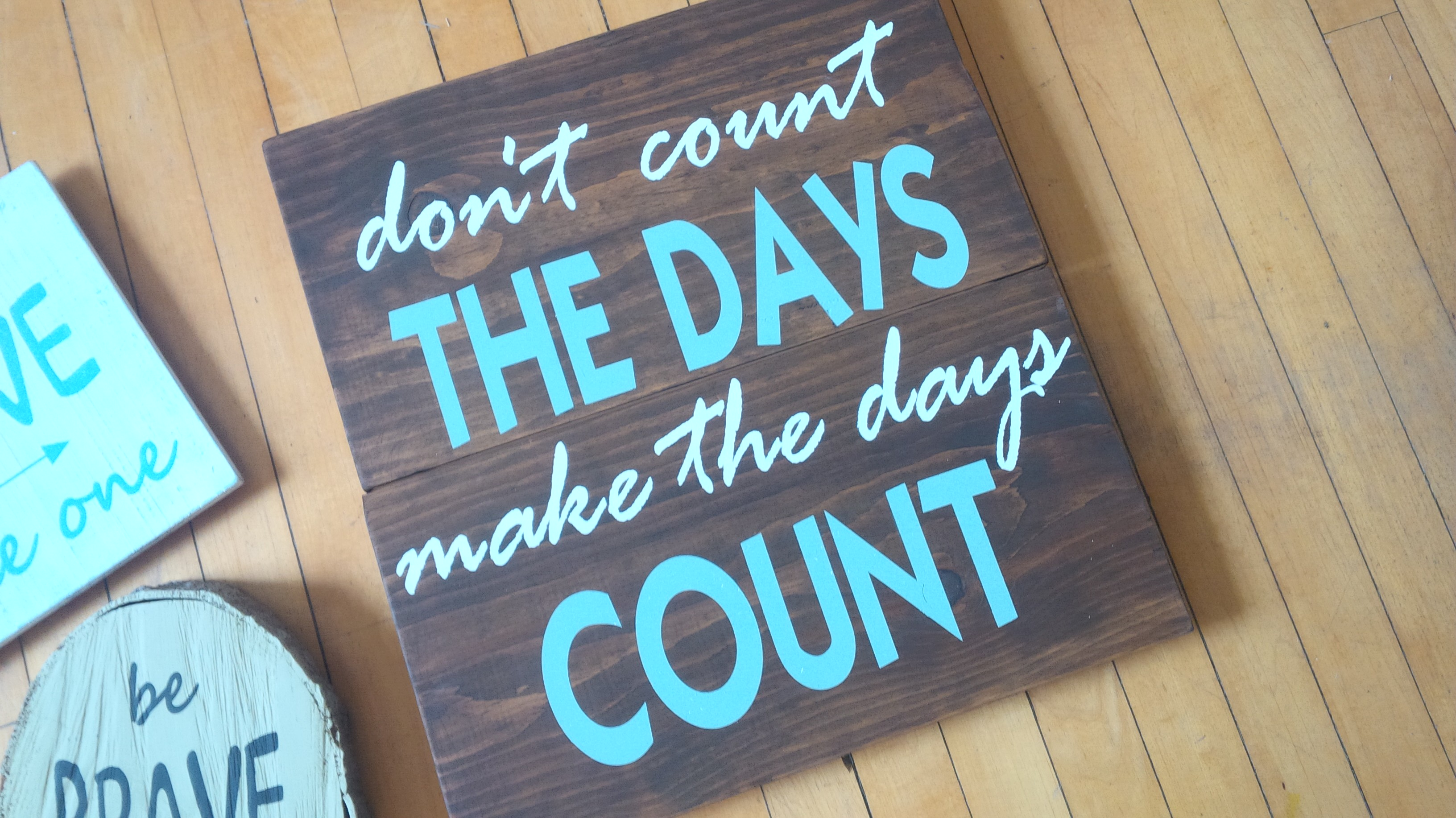 A32- Make the Days Count