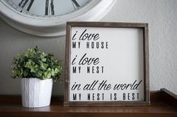 A16 - I Love my House/Nest