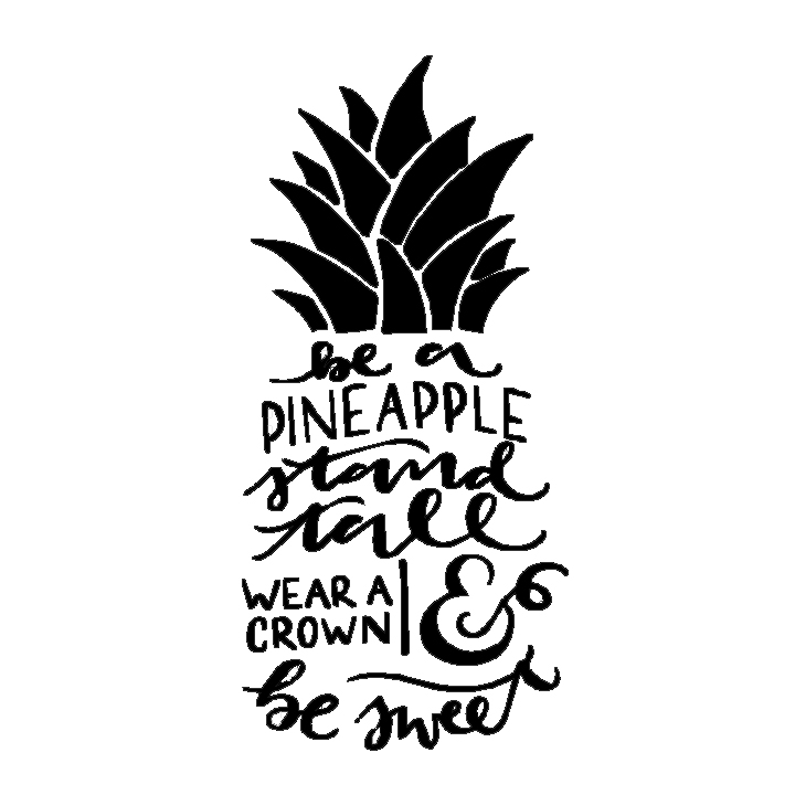 4. Be A Pineapple