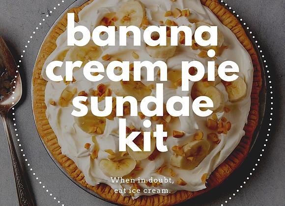 Banana Cream Pie Sundae Kit