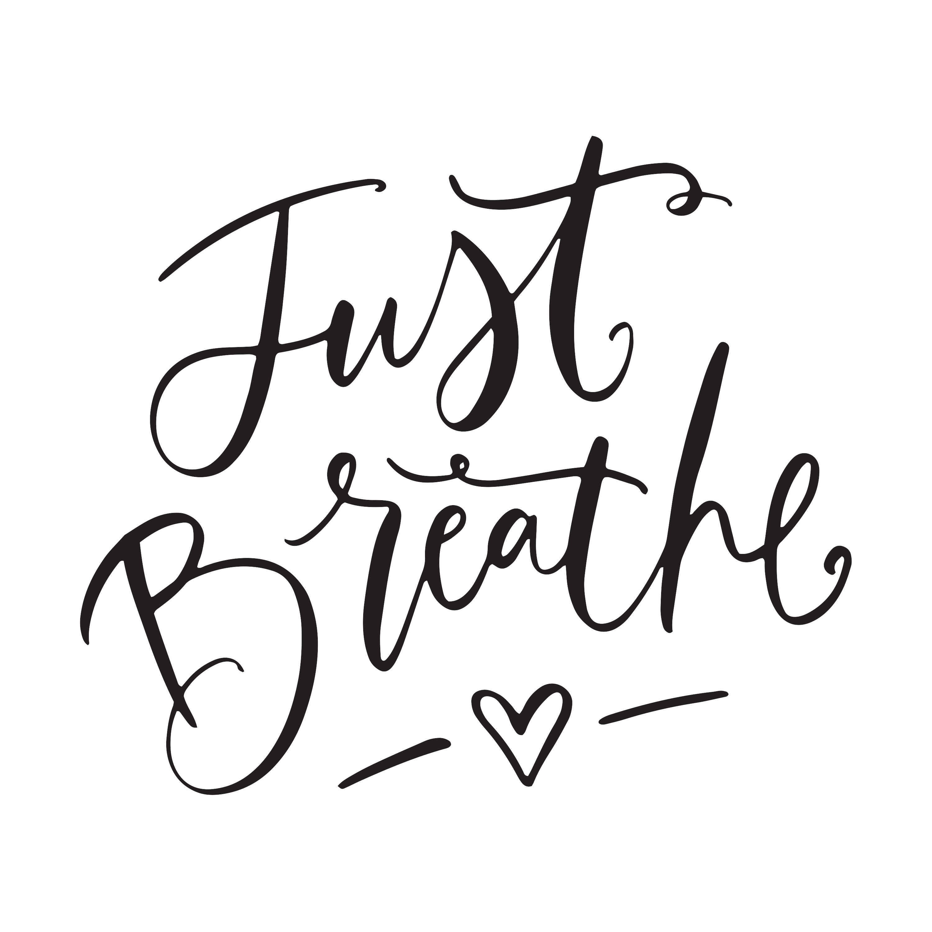 9. Just Breathe