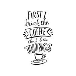 16. Coffee & Do Things