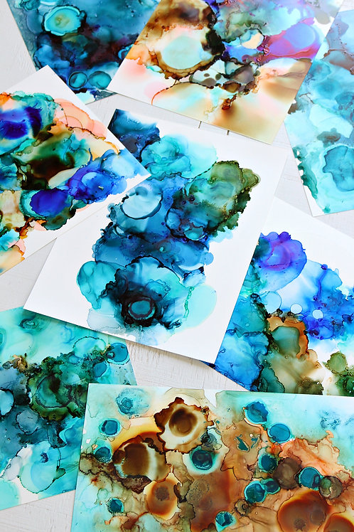Drink n' Ink - Alcohol Ink Art - Tuesday January 7 - 6pm
