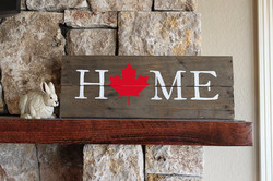 A47 - Home with Maple Leaf