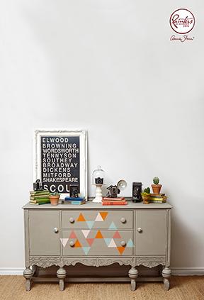 Jelena Pticek geometric sideboard