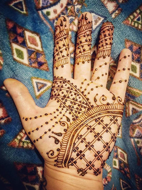 DROP IN Henna Body Art - Saturday July 28 10-4pm
