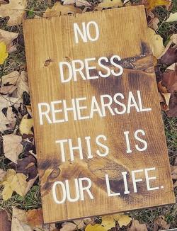 A6 - No Dress Rehearsal