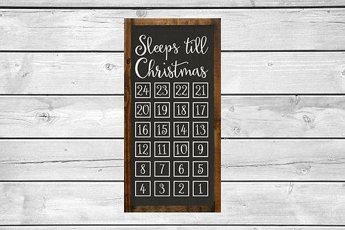 Wood Christmas Advent Calendar - Tuesday November 13 - 6pm