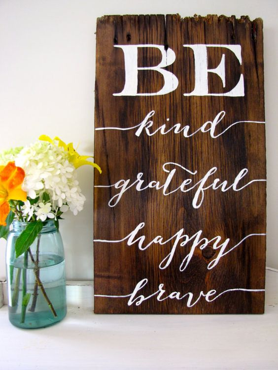 A29 - BE Kind Grateful Happy