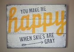A44 - You Make Happy Skies Grey