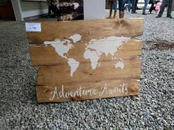 A43 - World Map - Adventure Awaits