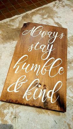 A22 - Always Stay Humble & Kind