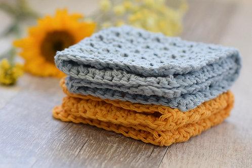 Beginner Crochet - Granny Dishcloths - Tuesday October 2 - 6pm