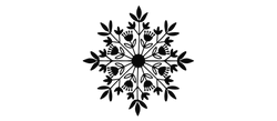 2 - Scandinavian Snowflake