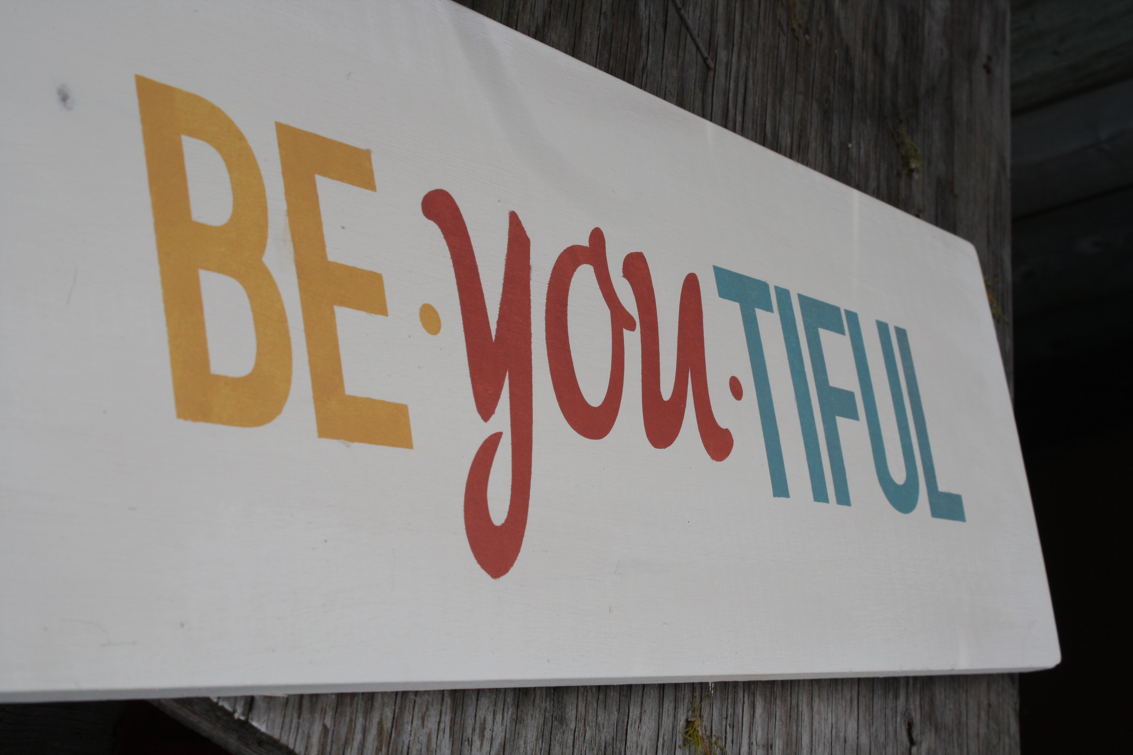 A34 - Be YOU tiful