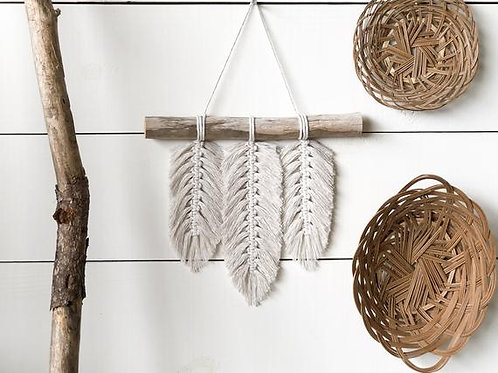Macrame Feathers Wall Hanging - Sunday March 10 - 1pm