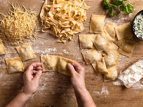 Pasta Making at Home with Chef Brodie - Tuesday April 2 - 6pm